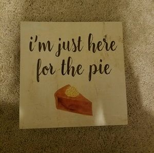 Im just here for the pie canvas
